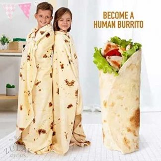 Double Sided Giant Burrito Blanket